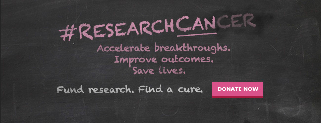 Fund breast cancer research to find a cure